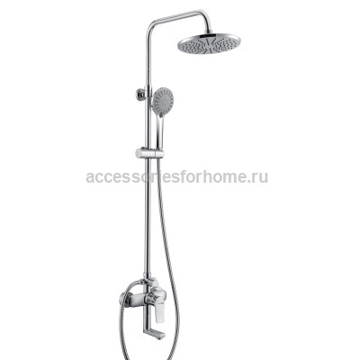 Душевой комплект со смесителем для ванны, 85/115 x 53,5 см WasserKraft A16601