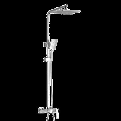 Душевая система ROSE R1636F белый/хром
