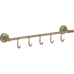 Планка 5 крючков для полотенец Ganzer GZ31075D