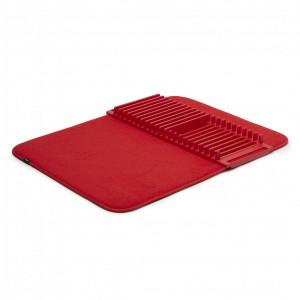 Коврик для сушки посуды Udry красный Umbra 330720-505