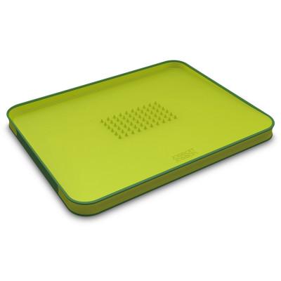 Доска разделочная для мяса Cut&Carve™ Plus двухсторонняя большая зеленая Joseph Joseph 60001