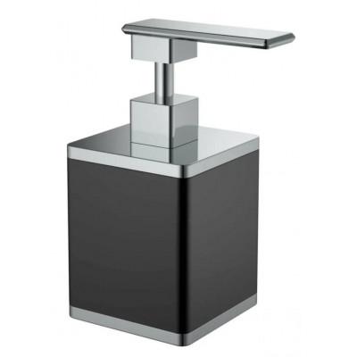 Дозатор настольный Boheme Q черный/хром 10969-B-CR