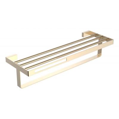 Boheme Q 10947-G Полка для полотенец (Золото)