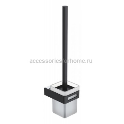 Boheme Q 10954-CR-B Ершик настенный (Хром/черный)