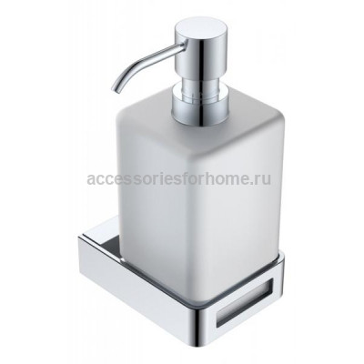 Boheme Q 10957-CR Диспенсер для мыла настенный (Хром)