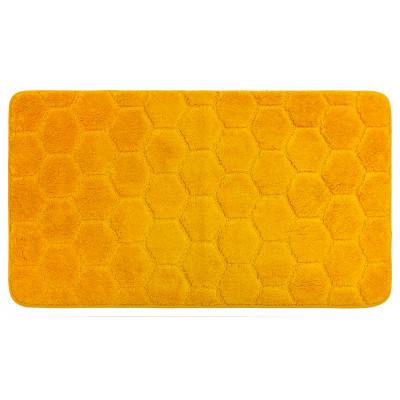 Коврик для ванной Лана 70х120см. желтый GR200