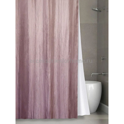 Штора для ванной Bath Plus Silk Collection NO WSV 023  180х200см.