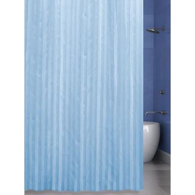 Штора для ванной 240х200 BathPlus ST-002 голубой