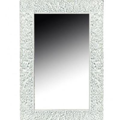 Зеркало Boheme Ajur 537 60x90, с подсветкой, цвет белый глянец