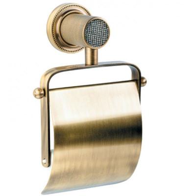 Держатель туалетной бумаги Boheme Royale Cristal бронза 10921-BR