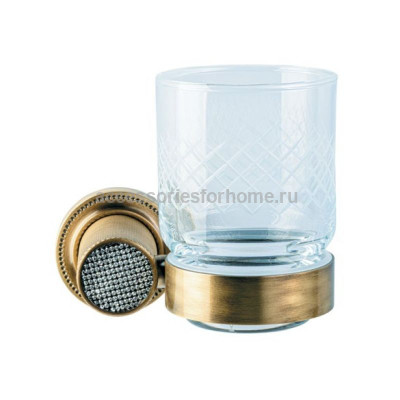 Стакан Boheme Royale Cristal бронза 10924-BR