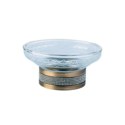 Мыльница настольная Boheme Royale Cristal бронза 10930-BR