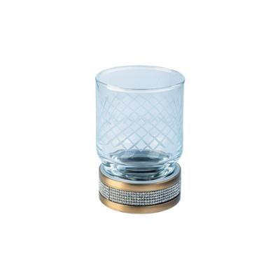 Стакан настольный Boheme Royale Cristal бронза 10931-BR