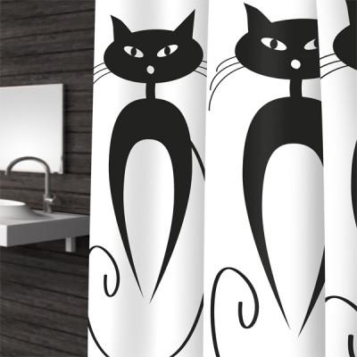 Штора для ванной Bacchetta CATS  180x200  4078