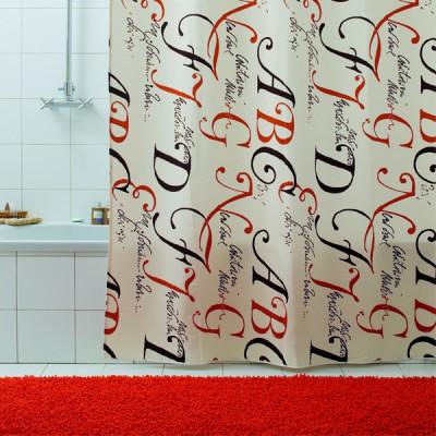 Штора для ванной Bacchetta LETTERE 180x200  3024
