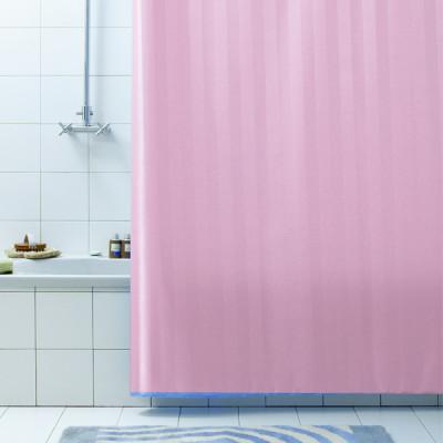 Штора для ванной Bacchetta RIGONE розовая 180x200  3212