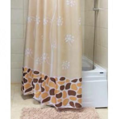 Штора для ванной (Growing) беж 180*180 BathPlus 21253/3