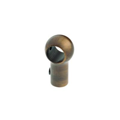 3500В Держатель для труб, классический (шт.), старая бронза Lemi