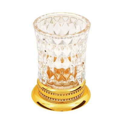 Настольный стакан хрусталь для зубных щеток Boheme Imperiale 10412