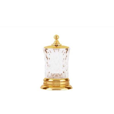 Косметическая баночка настольная хрусталь Boheme Imperiale 10415