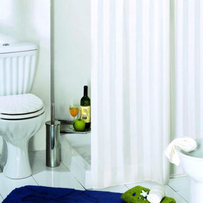 Штора для ванной 240х200 Bacchetta RIGONE белая  6894