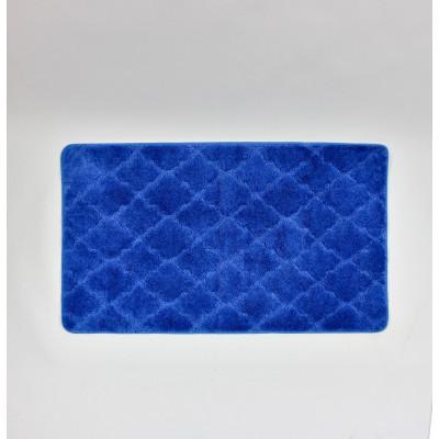 Коврик для ванной Лана 70х120см. синий GR208