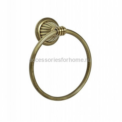 Держатель полотенец кольцо Boheme Hermitage 10324