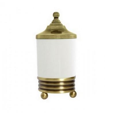 Баночка настольная для ватных дисков Boheme Hermitage 10334