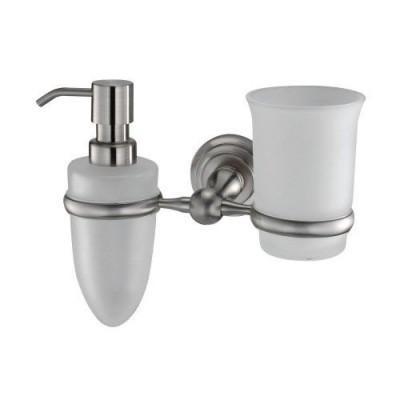 Держатель стакана и дозатора WasserKraft Ammer K-7089