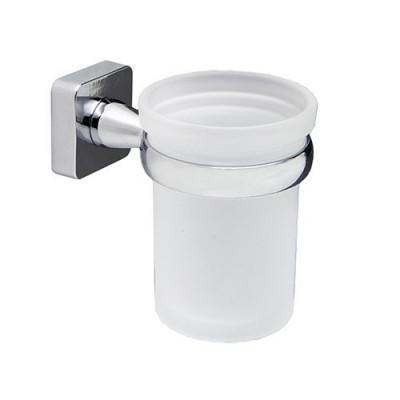 Стакан для зубных щеток стеклянный WasserKraft Lippe K-6528