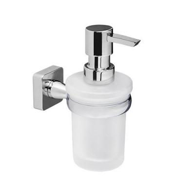 Дозатор для жидкого мыла стеклянный, 150 ml WasserKraft Lippe K-6599