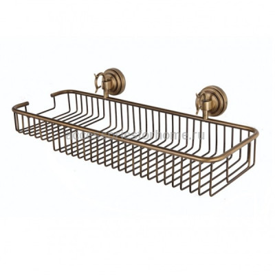 Полка для ванной комнаты одинарная Fuente Real Hestia бронза 2415H