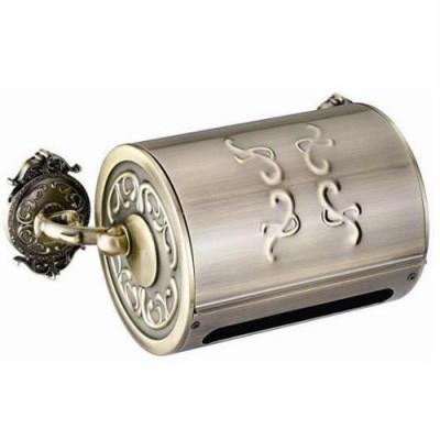 Бумагодержатель с крышкой закрытый bronze Hayta Классическая бронза 13903B-bronze