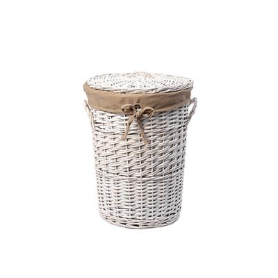 Aller WB-106-L Плетеная корзина для белья с крышкой WasserKraft