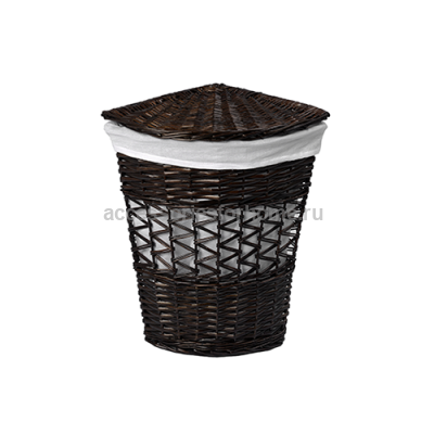 Salm WB-270-M Плетеная корзина для белья с крышкой WasserKraft