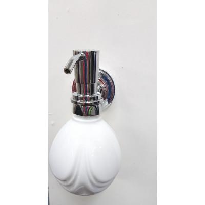 Диспенсер керамика для жидкого мыла хром Fuente Real Hestia (хром) 2540Н
