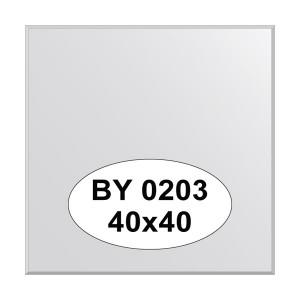 Зеркало 40х40см. EVOFORM BY-0203