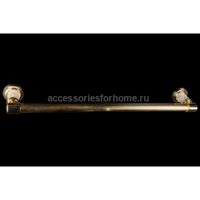 Держатель для полотенца Boheme Murano Crystal 10902-CRST-G (Золото)
