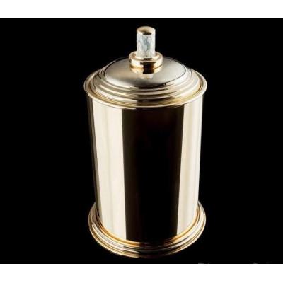 Контейнер для ванной Boheme Murano crystal 10907-CRST-G, золото
