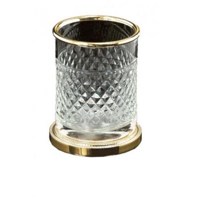 Стакан Boheme Cristal 10218 , золото/хрусталь