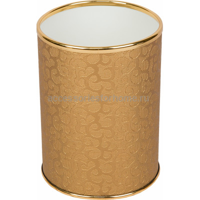 Мусорное ведро Geralis M-FGG-B золото, 3 л