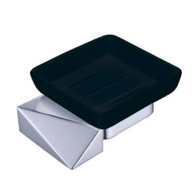 Мыльница Boheme New Venturo 10313-CR-B чёрный / хром