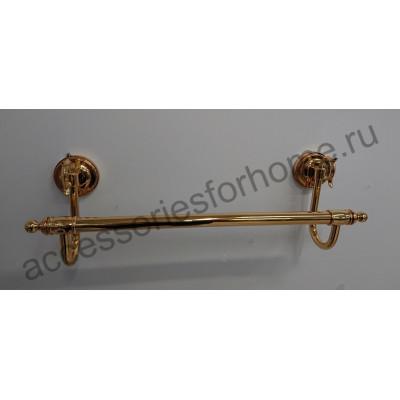 Полотенцедержатель 50см.  Fuente Real Hestia золото GR-4A