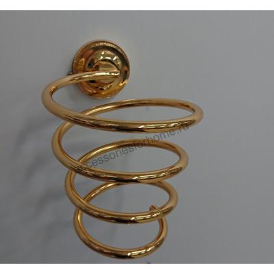 Держатель фена  Fuente Real Hestia золото GR-27