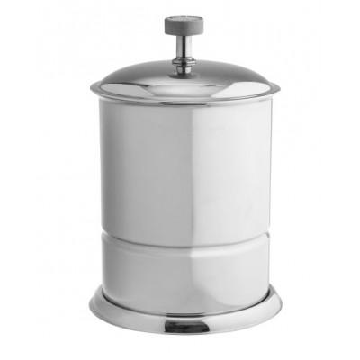 Ведро для мусора напольное металл Boheme Royale Cristal хром 10927-CR