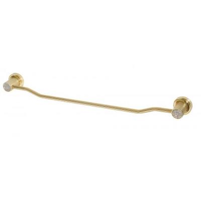 Держатель для полотенца Boheme Royale Cristal золото 10922-G