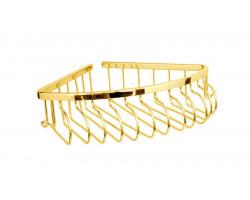 Полки-решетки одинарные золото