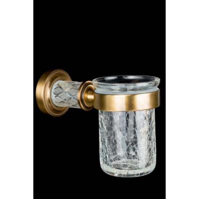 Стакан для зубных щеток Boheme Murano Crystal 10904-CRST-BR