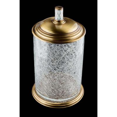 Ведро напольное Boheme Murano crystal 10914-CRST-BR бронза