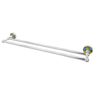 Штанга для полотенец двойная WasserKraft Diemel K-2240